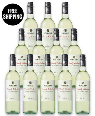 Mcwilliams Family Collection Sauv Blanc 2017 (12 Bottles)