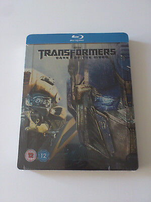 Transformers Dark of the Moon Blu-ray Steelbook Zavvi [UK] BRAND NEW SEALED