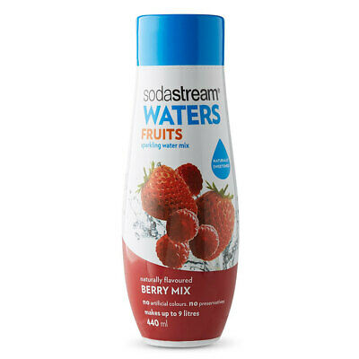 Sodastream Waters Fruits Berry Mix 440ml Sparkling Water Syrup/Sweetened Mix