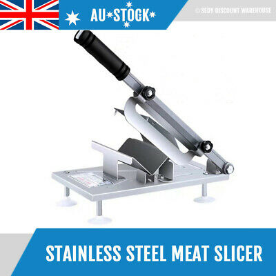 Frozen Meat Slicer Stainless Steel Manual Slicing Machine Fast Cutting Cheese