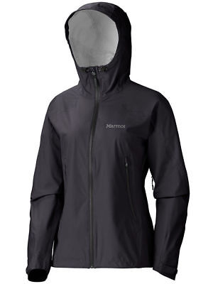 Marmot Adroit Jacket, Womens Waterproof, Black, L