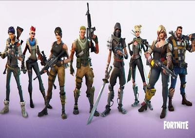 FORTNITE ft4 A4/A3 POSTER WALL ART