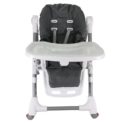 BSZF Baby High Chair Highchair Feeding Portable Comfortable Kids Toddler
