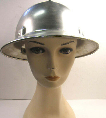 Vintage Jackson Quality Products Full Brim Aluminum Safety Hard Work Hat