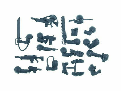 Cadian Command Squad - Waffen Pack und Arme - Big Pack