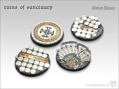Ruins of Sanctuary Bases 75mm Oval #1 Tabletop Art