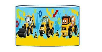 My First Jcb Lampshade / Ceiling Light Shade Kids Free P+P