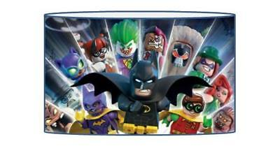 Lego Batman  Lampshade / Ceiling Light Shade Kids Free P+P