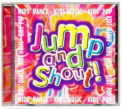 Jump and Shout CD    18 Kids Pop Songs  Children's Party Disco   *NEW & WRAPPED*
