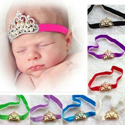 Elastic Girls Crown Princess Hairband Hair Accessories Headbands Headwear