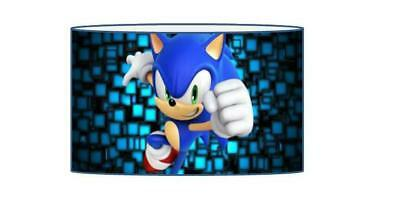 Sonic The Hedgehog Lampshade / Ceiling Light Shade Kids Free P+P