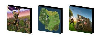 FORTNITE set b CANVAS WALL ART PLAQUES/PICTURES