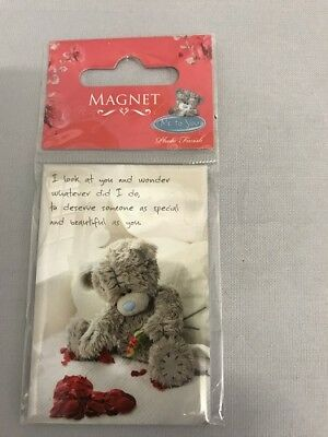 Tatty Ted Me to You Fridge Magnets with Red Roses 2 Designs