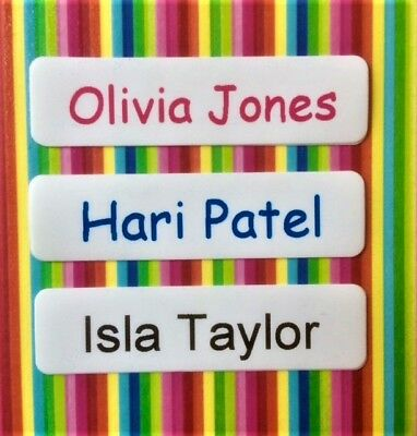 50, 75 or 100 Iron On Name Tags/ Name Tapes/ Name Labels - Personalised