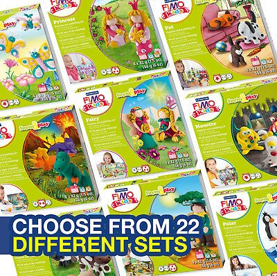 Fimo Kits For Kids Form & Play Polymer Modelling Clay Kits