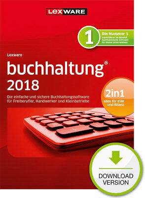 Lexware buchhaltung 2018 (365 Tage-Version) Downloadversion