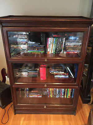 Barrister stackable bookcase