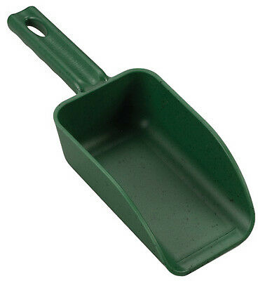 Poly Hand Scoop, Green, 2-cup, Poly, P-6300G