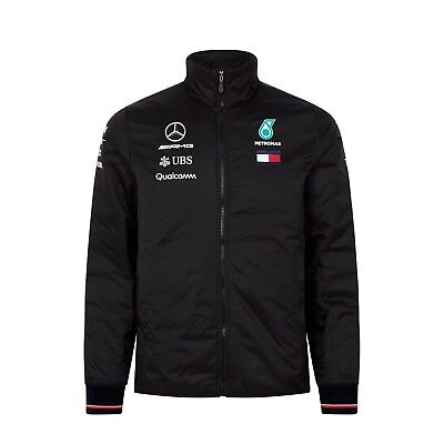 Mercedes AMG Petronas Motorsport F1 Men's Team Lightweight Padded Jacket - 2018