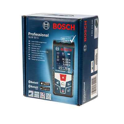 Bosch GLM50C Bluetooth Laser Range Distance Measurer Finder 0601072C00 GLM 50 C