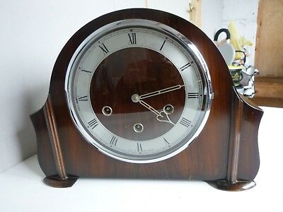"SMITHS WESTMINSTER CHIME MANTEL CLOCK ""The Lancaster"" FWO."