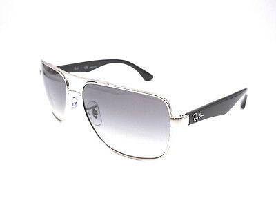 Authentic RAY-BAN Silver Sunglasses RB3483 - 003/32  *NEW*