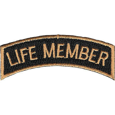 Life Member Tab Top Banner Patch