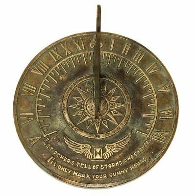 Rome Industries 1820 Solid Brass Colonial Sundial