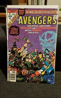 The Avengers King Sized Annual 7 Thanos