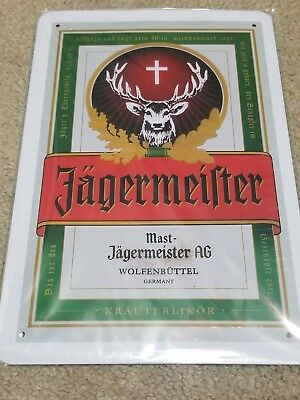Jagermeister Deer Vintage/Retro Tin Sign US Seller Fast shipping
