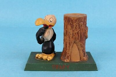 VINTAGE 1940's BEAKY BUZZARD WARNER BROS. CAST IRON METAL BANK PAPERWEIGHT