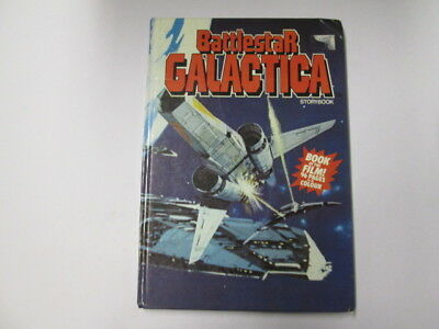 Acceptable - BATTLESTAR GALACTICA STORYBOOK - Charles Mercer 1978-01-01 Cracked