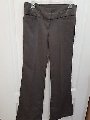 NWT XOXO Women's  Brown Dress  Pants Size 5/6