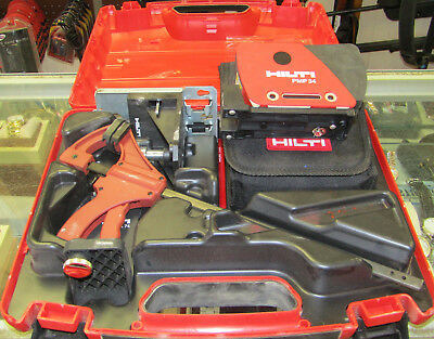 Nice Used HILTI PMP 34 Laser Level PMP34 with Case & Targets