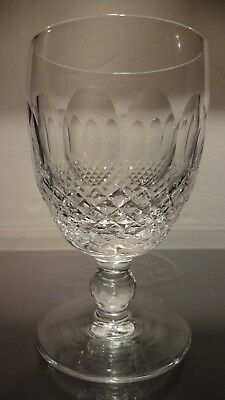 "*VINTAGE* Waterford Crystal COLLEEN (1953-) Claret Wine Glass 4 3/4"" 5 oz"