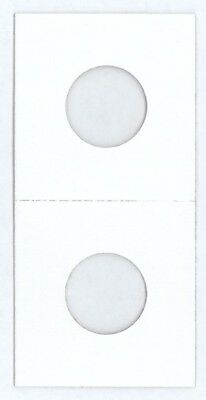 2x2 US Penny Cent Size HECO Mylar Cardboard Coin Flips 100 High Quality Holders