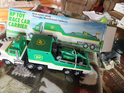 NOS Boxed 1993 Limited Edition Series BP Toy Race Car Carrier