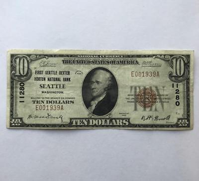 Ungraded 10$ Bill.  Series 1929.!! NR.!!