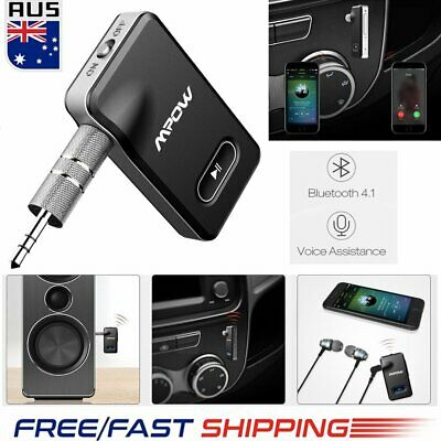 MPOW Bluetooth Receiver 2 in 1 Wireless Music Adapter w/ Car Locator Hands-free