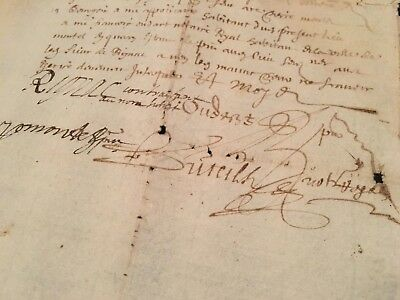Antique Document 1654