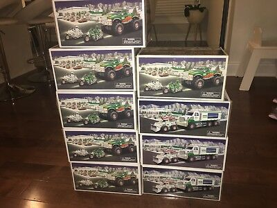 Hess Truck Lot Of 9Pc 2007-2008 Monster  Front Loader
