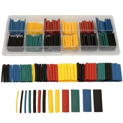 280pcs/Box Hot Polyolefin Assortment Ratio Heat Shrink Tubing Sleeving For Wrap