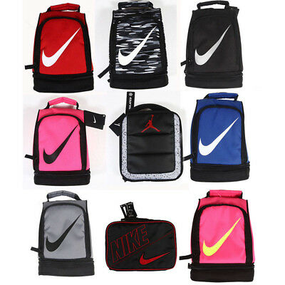 Nike lunch bag lunch tote Nike Contrast Insulated Tote Lunch Bag black,blue,pink