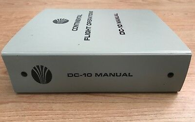 Continental DC-10 Flight Operations Manual - MEL, CDL and systems only