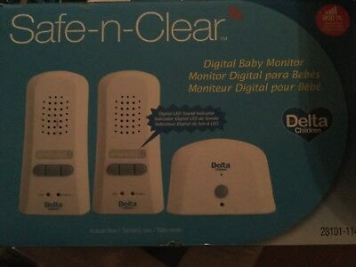 Safe-n-clear digital baby monitor new in box, 800 ft range.