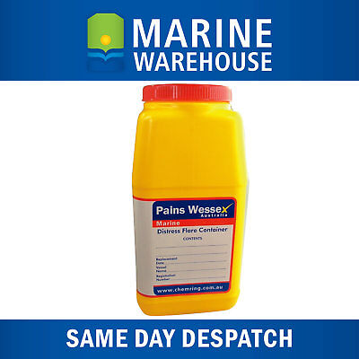 Marine Flare Container Pains Wessex - Buoyant Waterproof W/ Screw Top Lid 308308