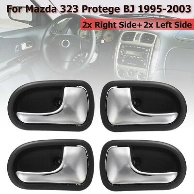 4Pcs Front Rear Inner Door Handle Left Right For Mazda 323 Protege BJ 1995-2003