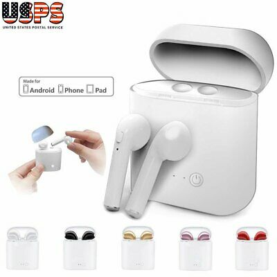 New Wireless Bluetooth Earphones Headphones Headset For iPhone 6 7 8 X Android