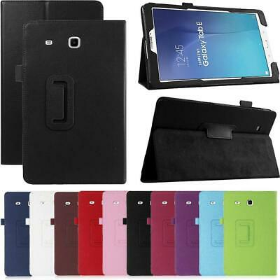 Magnetic PU Leather Case Stand Cover For Samsung Galaxy Tab E 8.0 SM-T377 T375