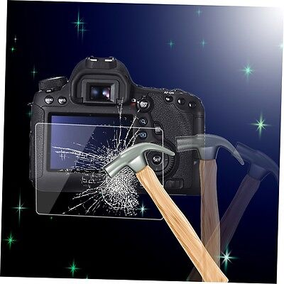 Tempered Glass Camera LCD Screen Panel Film HD Protector Cover for Canon 6D ADT